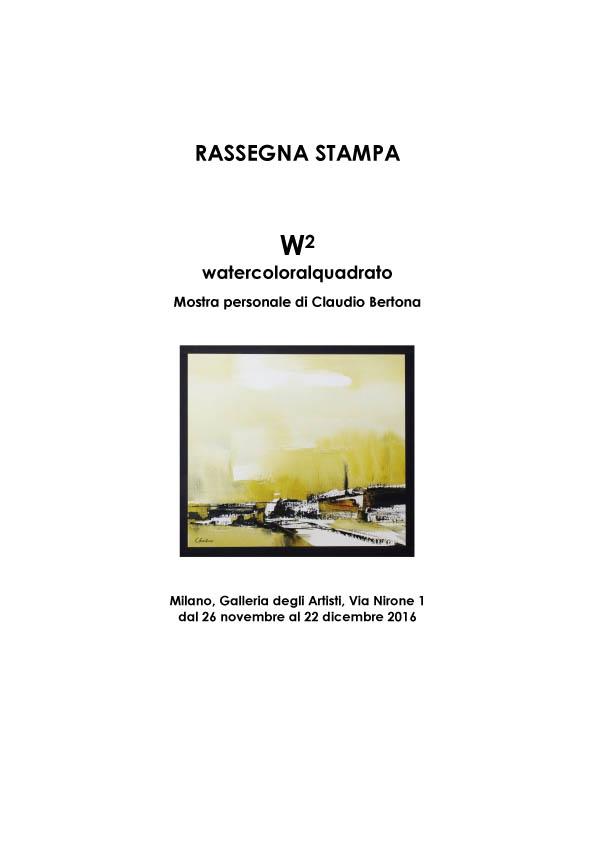 Watercoloralquadrato - Rassegna Stampa -1