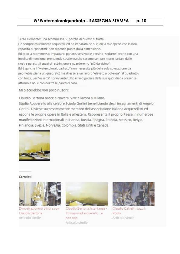 Watercoloralquadrato - Rassegna Stampa -10