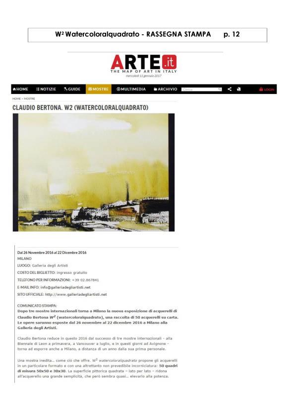 Watercoloralquadrato - Rassegna Stampa -12