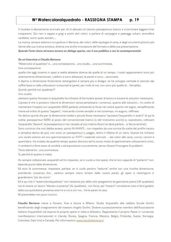 Watercoloralquadrato - Rassegna Stampa -19