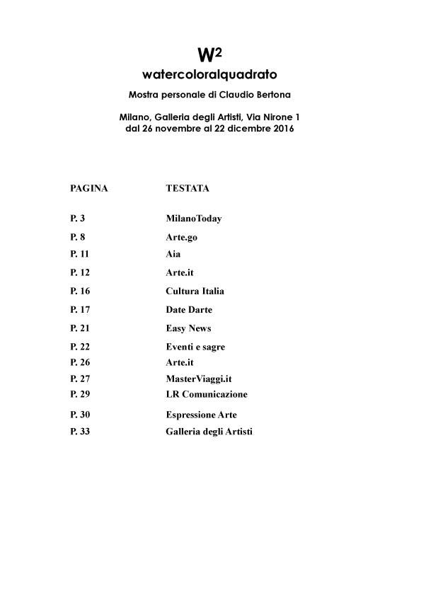 Watercoloralquadrato - Rassegna Stampa -2