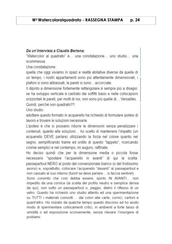 Watercoloralquadrato - Rassegna Stampa -24