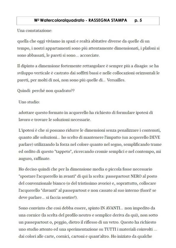 Watercoloralquadrato - Rassegna Stampa -5